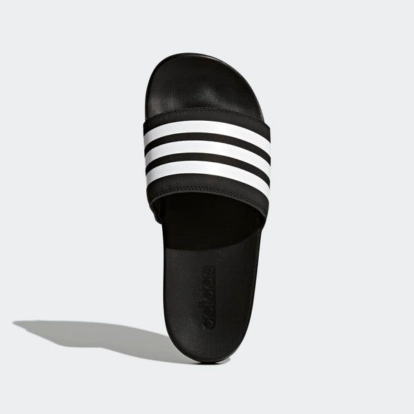 Adidas Adilette Cloudfoam Plus Stripes Women's Slides Black White AP9966 Sportstar Pro Newcastle, 2300 NSW. Australia. 3