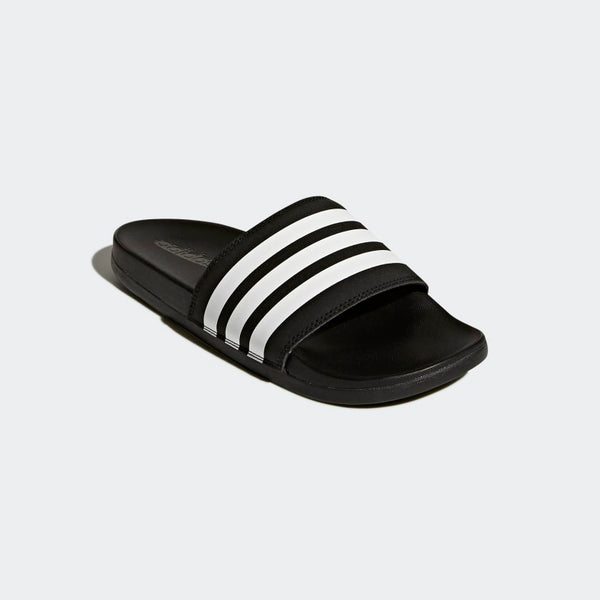 Adidas Adilette Cloudfoam Plus Stripes Women's Slides Black White AP9966 Sportstar Pro Newcastle, 2300 NSW. Australia. 5