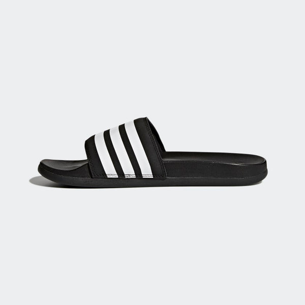 Adidas Adilette Cloudfoam Plus Stripes Women's Slides Black White AP9966 Sportstar Pro Newcastle, 2300 NSW. Australia. 7