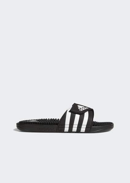 Adidas Adissage Men's Slides 0782660  Black White 1