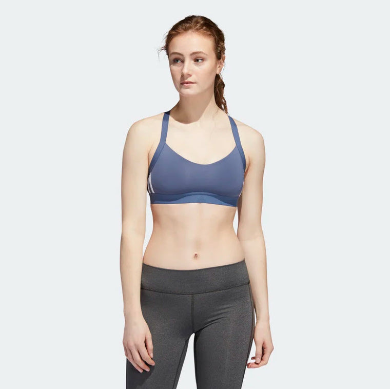 Adidas All Me 3-Stripes Bra Tech Ink EB3664