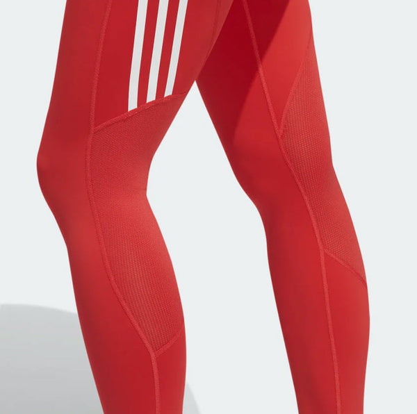 Adidas Alphaskin 3-Stripe Long Tights Glory Red FL2052 Sportstar Pro Newcastle, 2300 NSW. Australia. 10