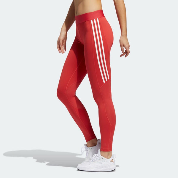 Adidas Alphaskin 3-Stripe Long Tights Glory Red FL2052 Sportstar Pro Newcastle, 2300 NSW. Australia. 3
