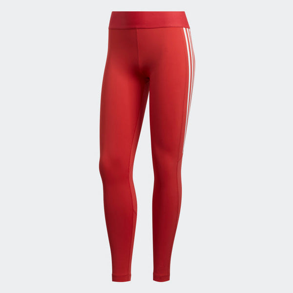 Adidas Alphaskin 3-Stripe Long Tights Glory Red FL2052 Sportstar Pro Newcastle, 2300 NSW. Australia. 6