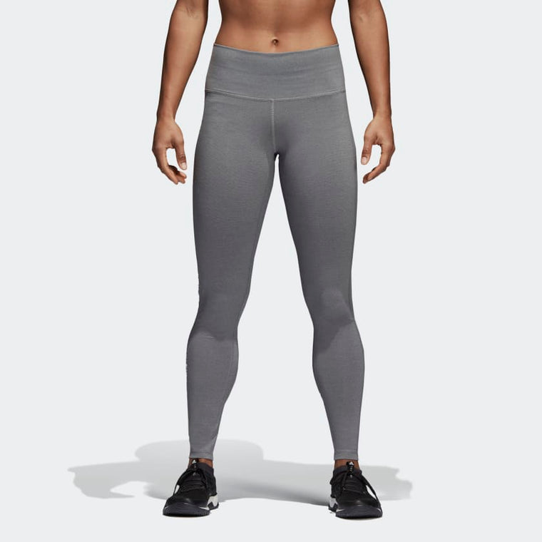 Adidas Believe This High-Rise Heathered Tights Black/Grey CV8427