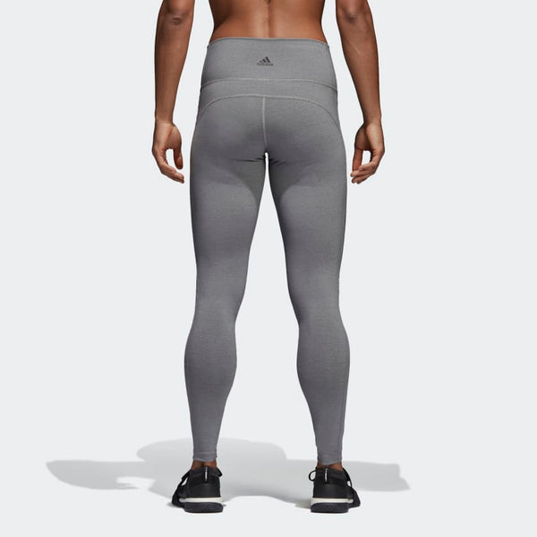 Adidas Believe This High-Rise Heathered Tights Black Grey CV8427 Sportstar Pro Newcastle, 2300 NSW. Australia. 3