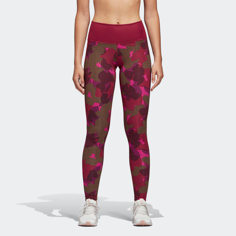 Adidas Believe This Tights Noble Maroon CX0010