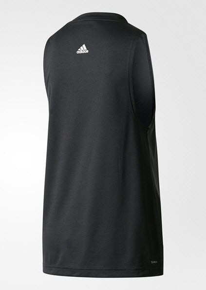 Adidas Boxy Logo Tank Top Black BQ5925 - WOMEN'S TRAINING. Sportstar Pro Newcastle, 2300 NSW. Australia.