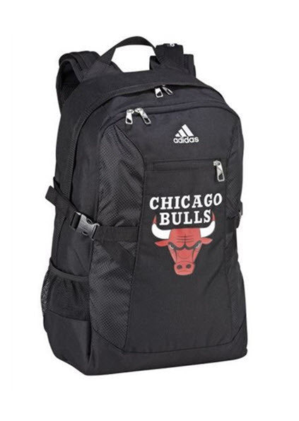 Adidas Chicago Bulls Basketball Backpack with Laptop Pocket