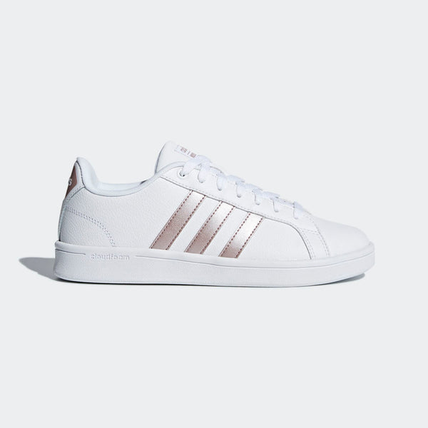 Adidas Cloudfoam Advantage Women's Shoes White Vapor Grey Metallic DA9524 Sportstar Pro Newcastle, 2300 NSW. Australia. 1