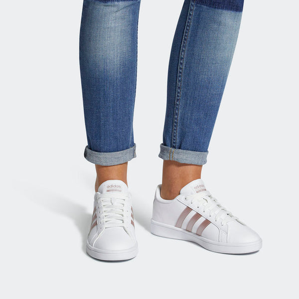 Adidas Cloudfoam Advantage Women's Shoes White Vapor Grey Metallic DA9524 Sportstar Pro Newcastle, 2300 NSW. Australia. 2