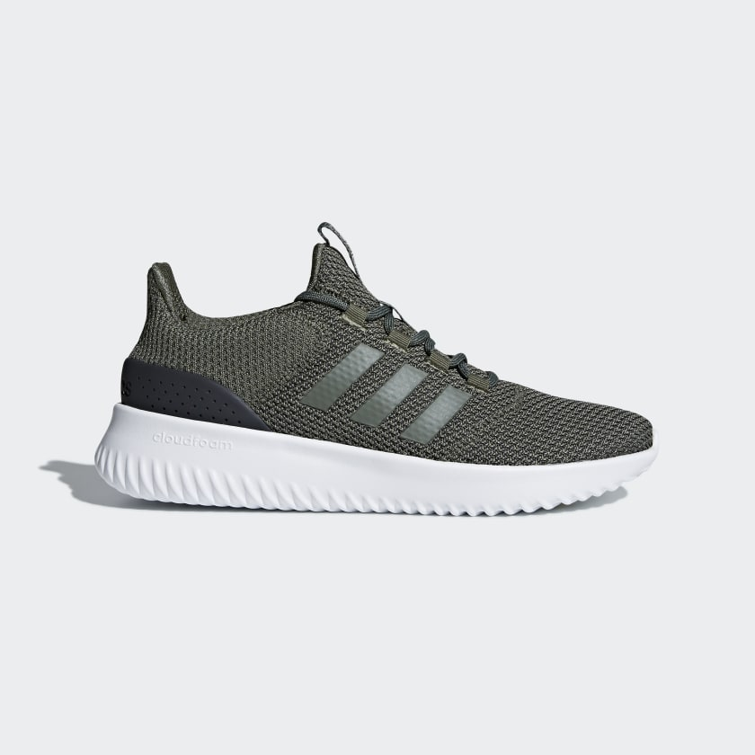 Adidas Cloudfoam Ultimate Men's Shoes Base Green Carbon B43844 Sportstar Pro Newcastle, 2300 NSW. Australia. 1