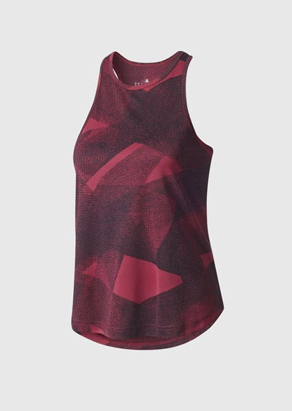 Adidas Cool Graphic Tank Top - Mystery Ruby BQ5890