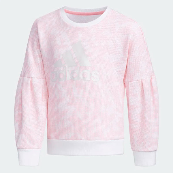 Adidas Crewneck Sweatshirt White Light Pink EH4068 Sportstar Pro Newcastle, 2300 NSW. Australia. 1