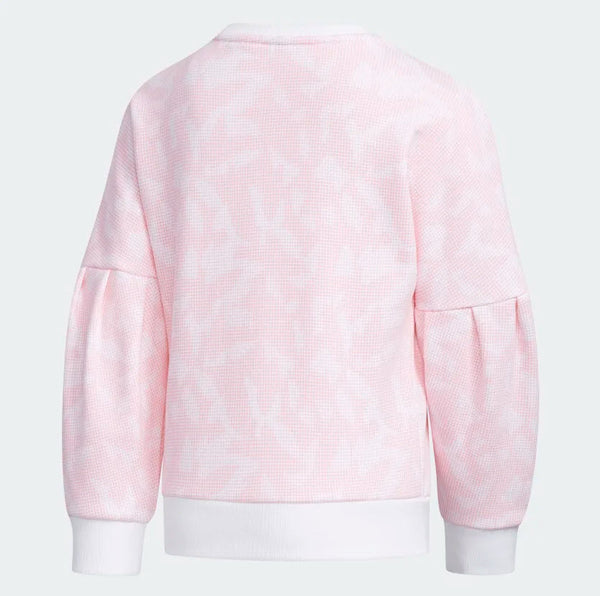 Adidas Crewneck Sweatshirt White Light Pink EH4068 Sportstar Pro Newcastle, 2300 NSW. Australia. 2