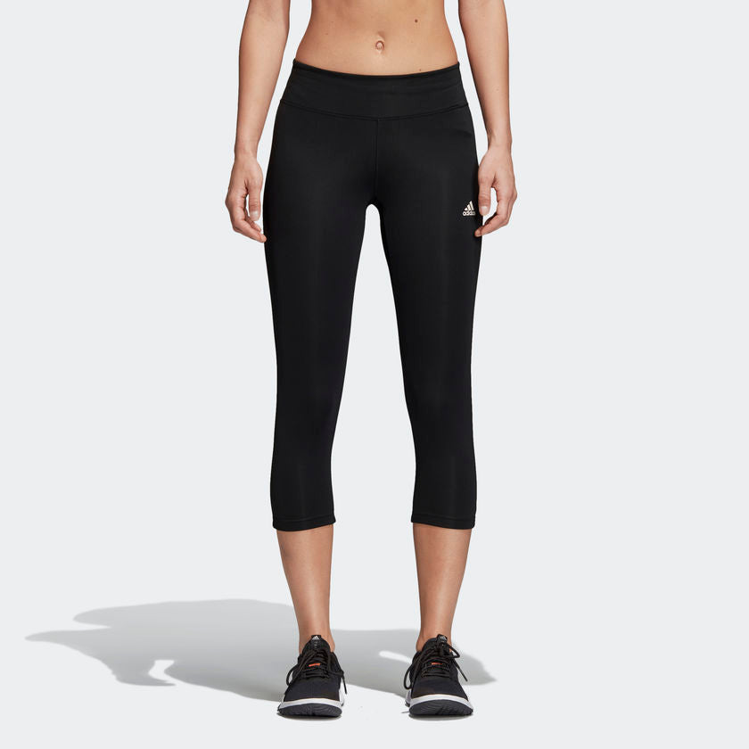Adidas Designed 2 Move Climalite 3 Quater Leggings Black CE2046 Sportstar Pro Newcastle, 2300 NSW. Australia. 1