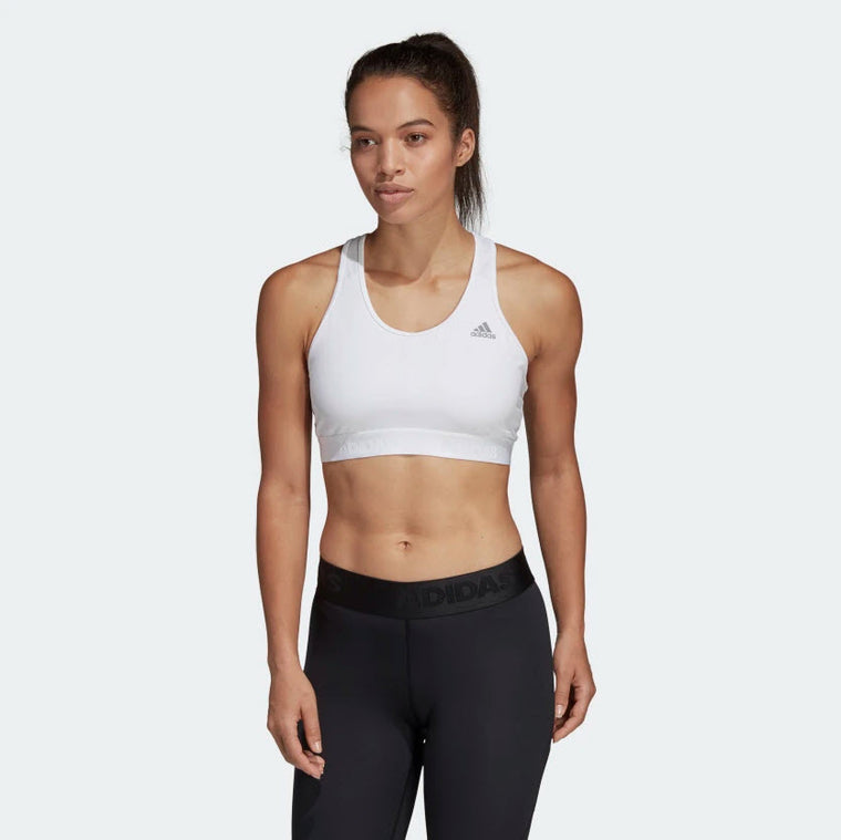 Adidas Don't Rest Alphaskin Sports Bra White CE0786