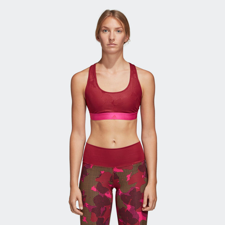 Adidas Don't Rest Iteration Bra Noble Maroon DH7095