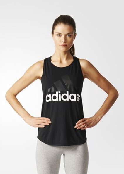 Adidas Essentials Linear Loose Tank Top Black/White B45743 Sportstar Pro. 519 Hunter Street Newcastle, 2300 NSW. Australia.