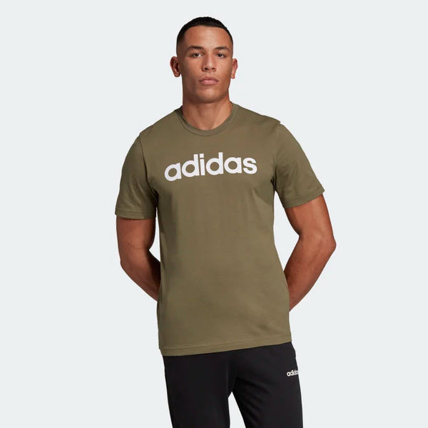 Adidas Essentials Linear T-Shirt Raw Khaki DU0412 Sportstar Pro Newcastle, 2300 NSW. Australia. 1