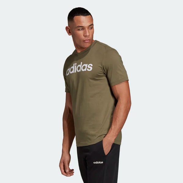 Adidas Essentials Linear T-Shirt Raw Khaki DU0412 Sportstar Pro Newcastle, 2300 NSW. Australia. 2