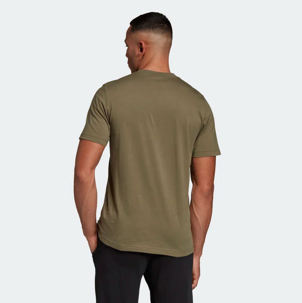 Adidas Essentials Linear T-Shirt Raw Khaki DU0412 Sportstar Pro Newcastle, 2300 NSW. Australia. 3
