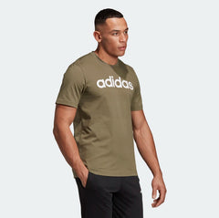 Adidas Essentials Linear T-Shirt Raw Khaki DU0412 Sportstar Pro Newcastle, 2300 NSW. Australia. 4