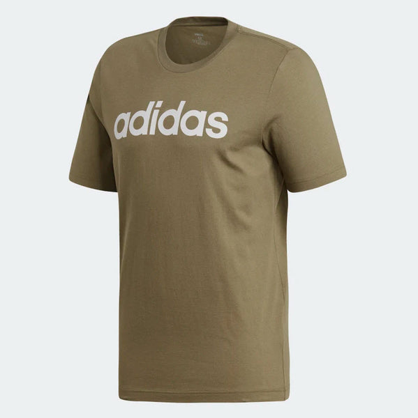 Adidas Essentials Linear T-Shirt Raw Khaki DU0412 Sportstar Pro Newcastle, 2300 NSW. Australia. 5