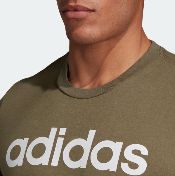 Adidas Essentials Linear T-Shirt Raw Khaki DU0412 Sportstar Pro Newcastle, 2300 NSW. Australia. 7