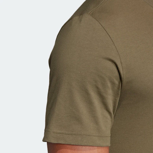 Adidas Essentials Linear T-Shirt Raw Khaki DU0412 Sportstar Pro Newcastle, 2300 NSW. Australia. 8