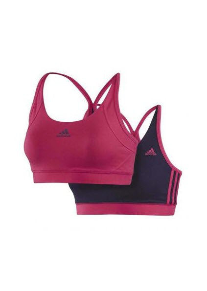 Adidas Essentials MF Bra Reversible Pink/Violet