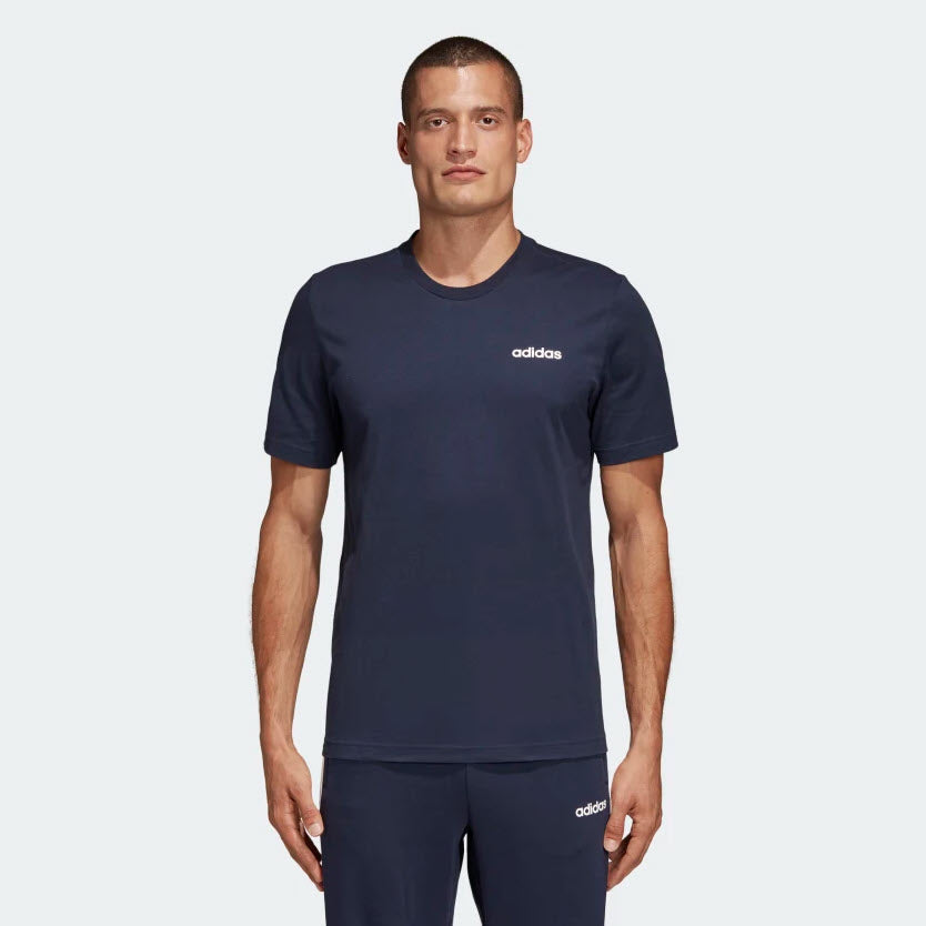 Adidas Essentials Plain T-Shirt Legend Ink DU0369 Sportstar Pro Newcastle, 2300 NSW. Australia. 1