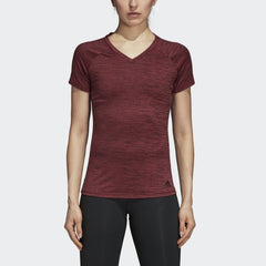 Adidas FreeLift Fitted Tee Noble Maroon Heather  CZ8000 Sportstar Pro Newcastle, 2300 NSW. Australia. 1
