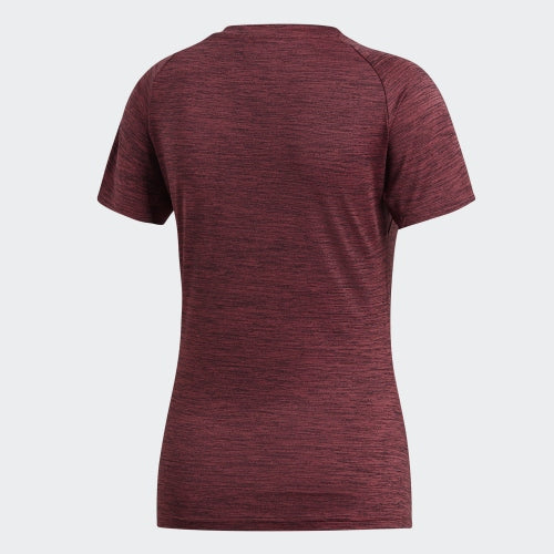 Adidas FreeLift Fitted Tee Noble Maroon Heather  CZ8000 Sportstar Pro Newcastle, 2300 NSW. Australia. 3