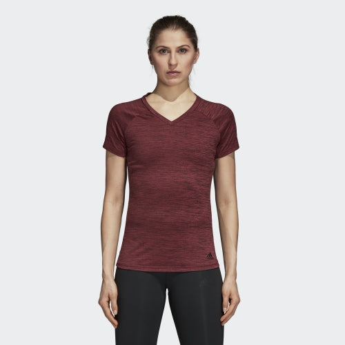 Adidas FreeLift Fitted Tee Noble Maroon Heather  CZ8000 Sportstar Pro Newcastle, 2300 NSW. Australia. 4