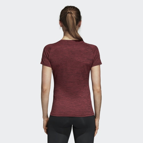 Adidas FreeLift Fitted Tee Noble Maroon Heather  CZ8000 Sportstar Pro Newcastle, 2300 NSW. Australia. 6