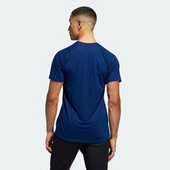 Adidas FreeLift Sport Prime Heather Tee Collegiate Royal Black EB8027 Sportstar Pro Newcastle, 2300 NSW. Australia. 3