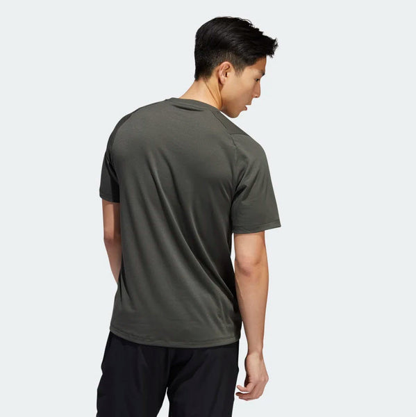 Adidas FreeLift Sport Prime Lite Tee Legend Earth EB8021 Sportstar Pro Newcastle, 2300 NSW. Australia. 3
