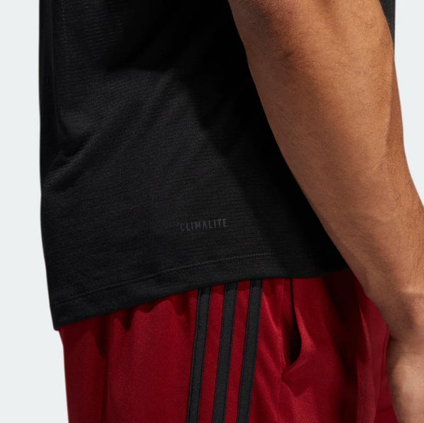 Adidas FreeLift Tech Climacool 3-Stripe Tee Black Heather EB8051 Sportstar Pro Newcastle, 2300 NSW. Australia. 8