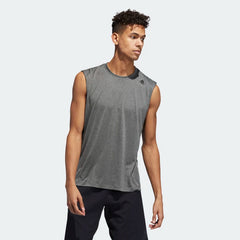 Adidas FreeLift Tech Climacool 3-Stripes Tee Grey Three Heather EB8007 Sportstar Pro Newcastle, 2300 NSW. Australia. 1