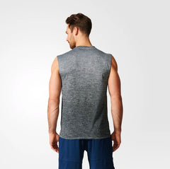 Adidas Gradient Sleeveless Tee Grey BK1360 Sportstar Pro Newcastle, 2300 NSW. Australia. 3