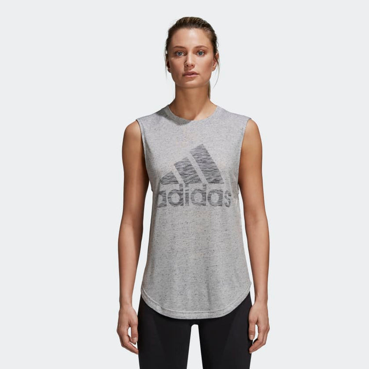 Adidas ID Winners Muscle Tee MGH Solid Grey/DGH Solid Grey CF7077