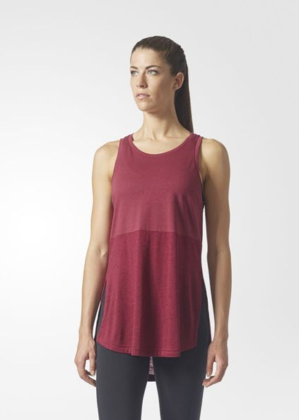 Adidas ID Winners Tank Top Mystery Ruby BS2383