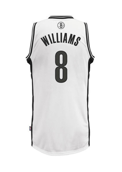Adidas INT Swingman NBA Brooklyn Nets Jersey Deron WILLIAMS #8 L76284 White. Sportstar Pro. 519 Hunter Street Newcastle, 2300 NSW. Australia.