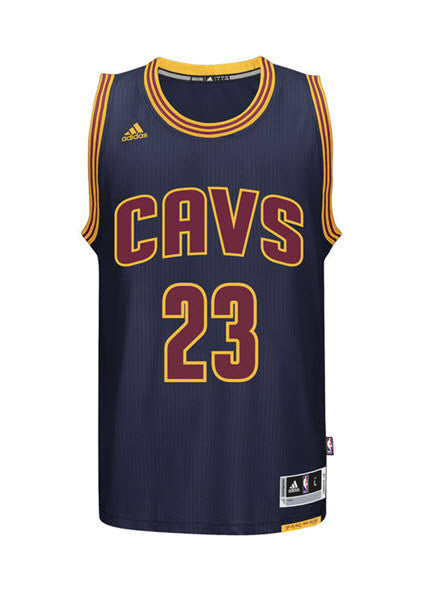 detailed look de763 69e3d Adidas INT Swingman NBA Cleveland Cavaliers CAVS Jersey JAMES #23 AL5031  Navy