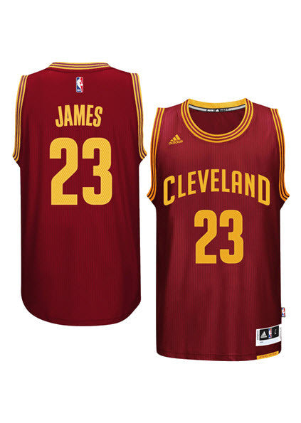 uk availability e6ab7 6c5c4 Adidas INT Swingman NBA Cleveland Cavaliers Jersey JAMES #23 A61199 Wine