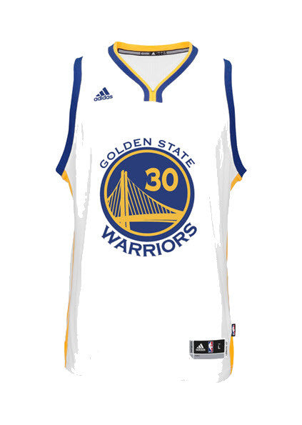 ... new appearance 5f498 c1bb0 Adidas INT Swingman NBA Golden State Warriors  Jersey Stephen CURRY White A45915 ... 1a83fdf3ae80