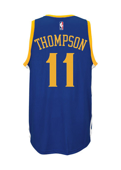 huge selection of 9db50 e22b2 Adidas INT Swingman NBA Golden State Warriors Jersey THOMPSON #11 A45912  Blue