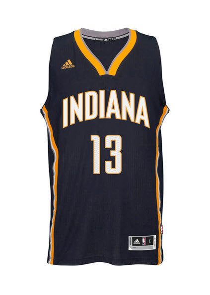 Adidas INT Swingman NBA Indiana Pacers Jersey GEORGE #13 M98933 Navy