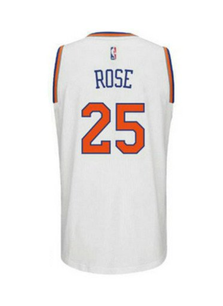 Sportstar  Adidas INT Swingman NBA New York City Knicks Jersey ROSE  25  CB9701 White. 8182a8595